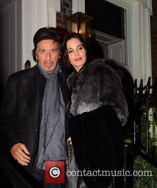Al Pacino, Lucila Sola The Afterparty for the...