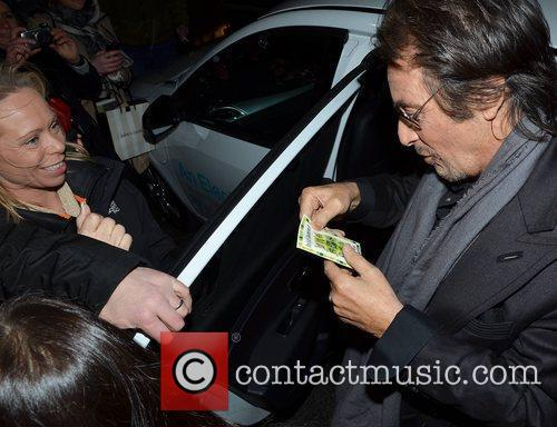 Al Pacino Dublin International Film Festival - 'Wilde...