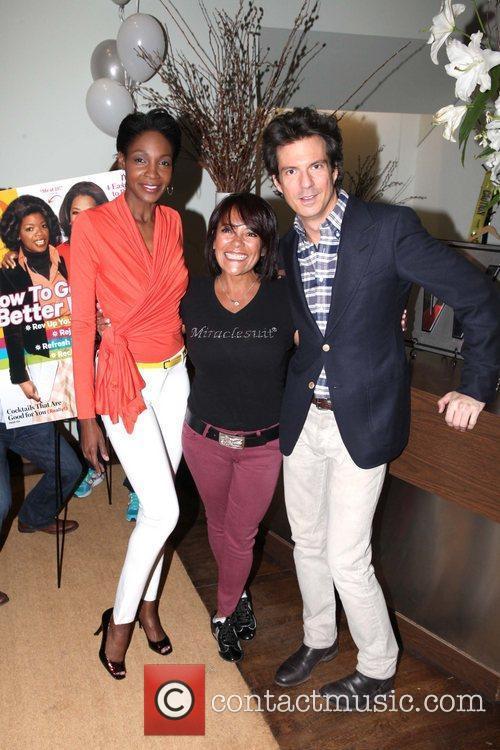 Roshumba Williams, Sandra Davidoff, Adam Glassman Wilhemina Models...