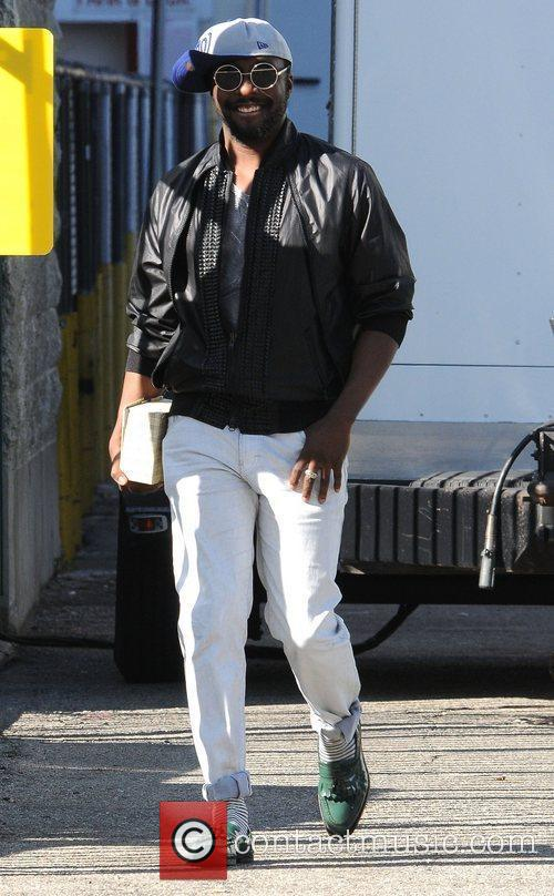 william leaves a building in los angeles 3980852