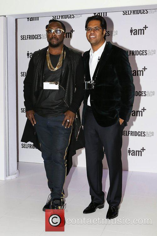 will.i.am and Chandra Rathakrishnan,  at the photocall...