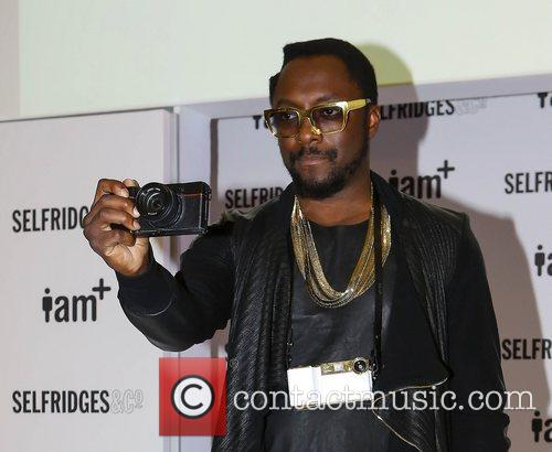At the photocall to launch the i.am+ camera...