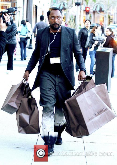 Will.i.am doing some last minute Christmas shopping on...