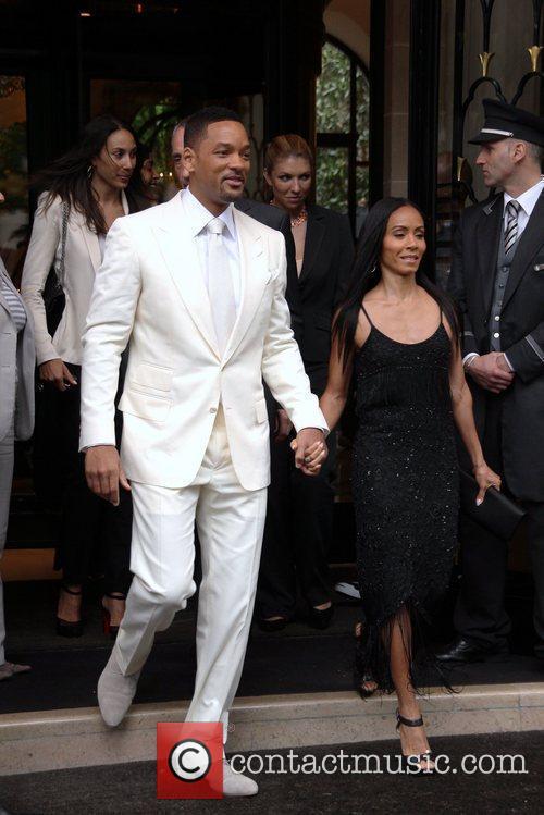 Will Smith and Jada Pinkett Smith  depart...