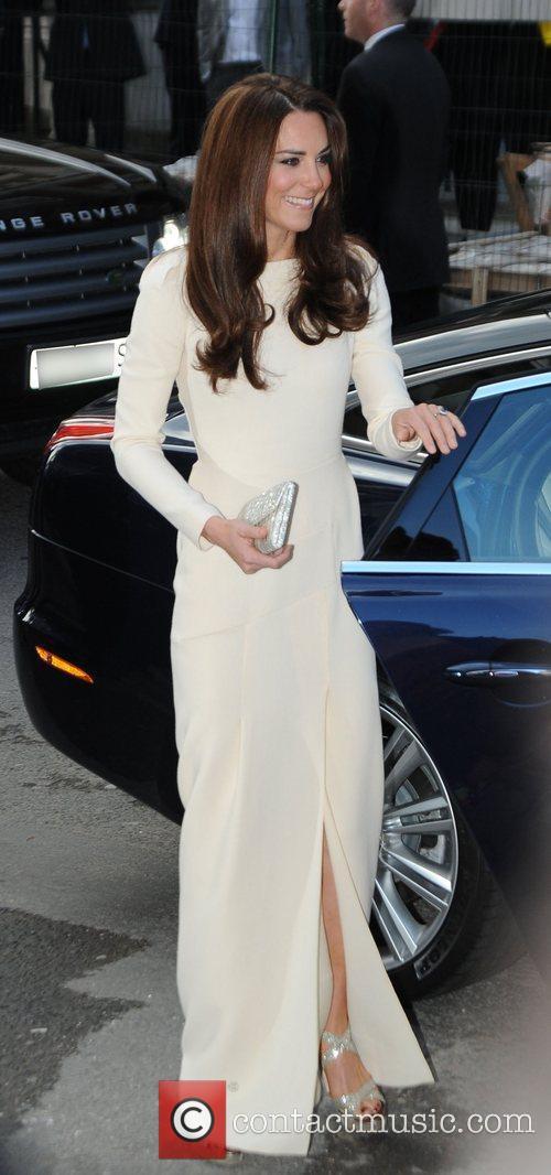 Catherine, Duchess of Cambridge, aka Kate Middleton arriving...