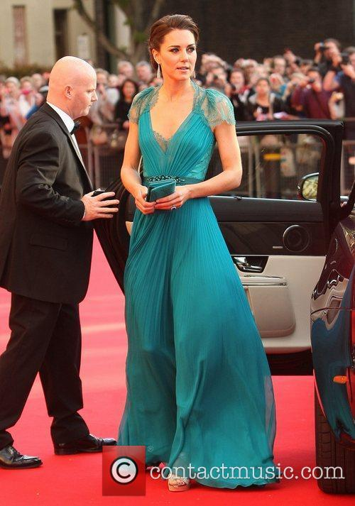 Catherine, Duchess of Cambridge aka Kate Middleton arrives...