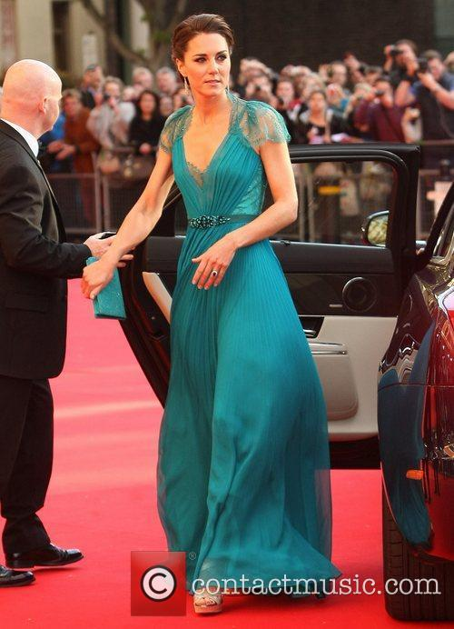 Arrives at the Royal Albert Hall to attend...