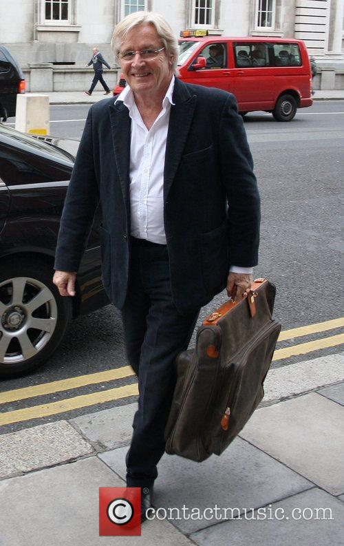 William Roache arrives at his hotel ahead of...