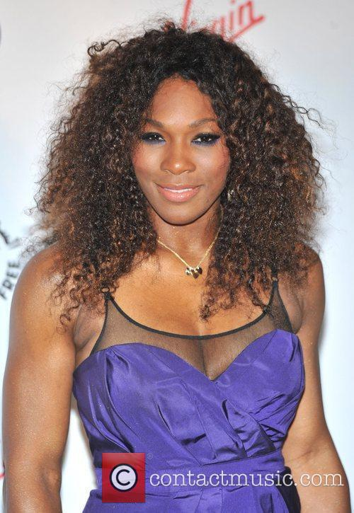 Serena Williams Sir Richard Branson's Pre-Wimbledon Party held...