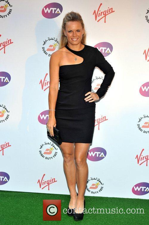 Caroline Wozniacki Sir Richard Branson's Pre-Wimbledon Party held...