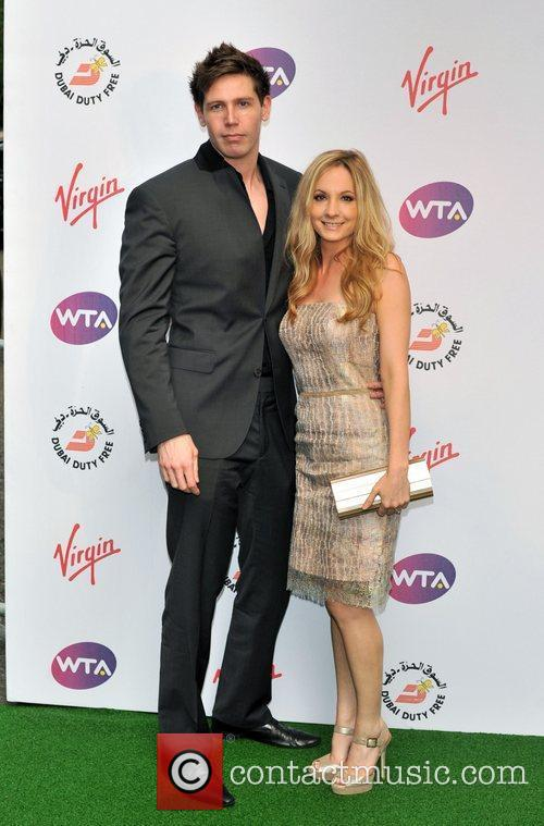 Joanne Froggatt and guest Sir Richard Branson's Pre-Wimbledon...