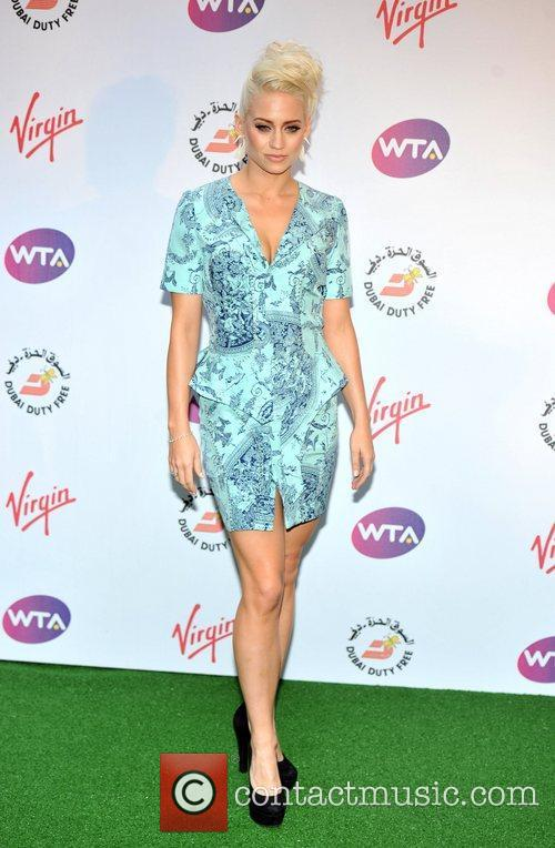 Kimberly Wyatt Sir Richard Branson's Pre-Wimbledon Party held...