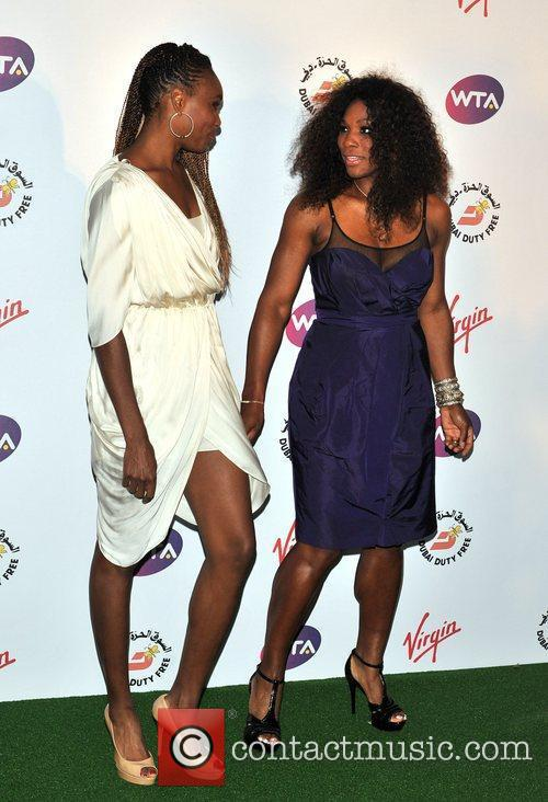 Venus and Serena Williams Sir Richard Branson's Pre-Wimbledon...