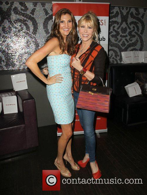 Heather McDonald, Lisa Gastineau Wine By Wives Launch...