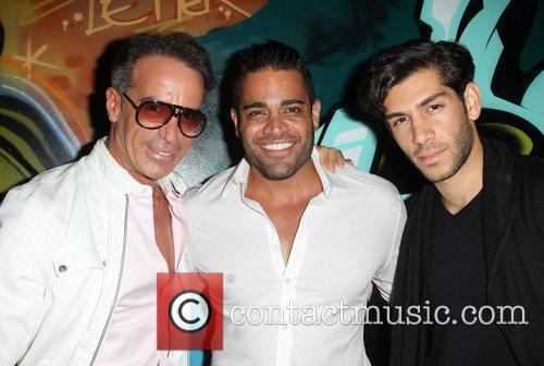 Lloyd Klein, Mike Shouhed and Singer Mohammad Molaei...
