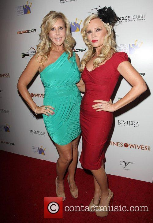 Vicki Gunvalson, Tamra Barney Wine By Wives Launch...