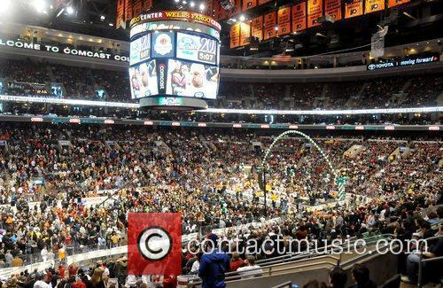 SportsRadio 94 WIP's Wing Bowl 20 at the...
