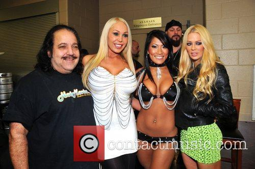 Mary Carey, Christina Aguchi, Jenna Jameson and Ron Jeremy