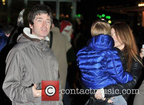 Noel Gallagher and Sarah McDonald 2