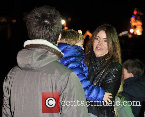 Noel Gallagher and Sarah McDonald 1