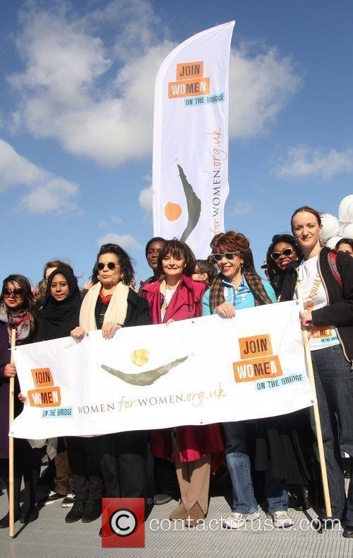 Cherie Blair takes part in the Join me...