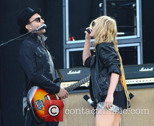 James Shaw and Emily Haines of Metric Barclaycard...