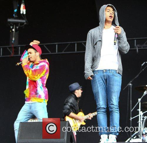 Katie Price, Rizzle Kicks, Wireless Festival and Harley Sylvester 2
