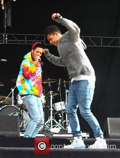 Katie Price, Rizzle Kicks and Wireless Festival 3