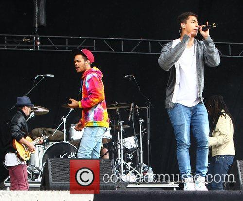 Katie Price, Rizzle Kicks and Wireless Festival 4