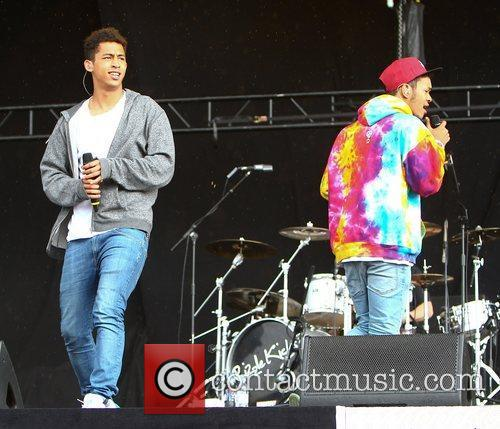 Katie Price and Rizzle Kicks 5