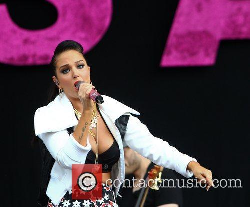 Tulisa Contostavlos and Wireless Festival 4