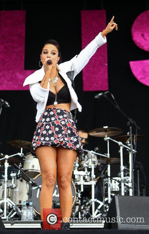Tulisa Contostavlos and Wireless Festival 5