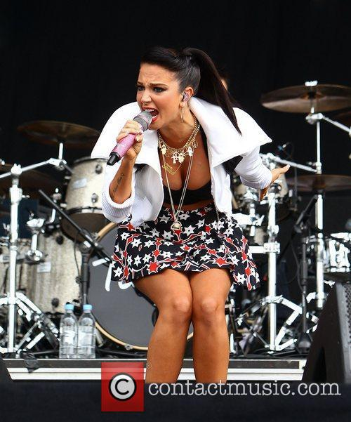 Tulisa Contostavlos and Wireless Festival 6