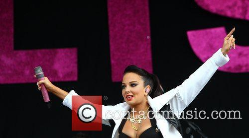 Tulisa Contostavlos and Wireless Festival 8