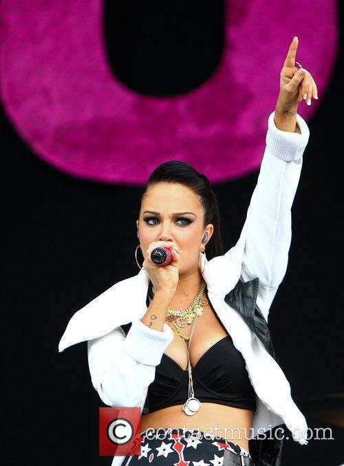 Tulisa Contostavlos and Wireless Festival 9