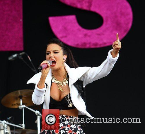 Tulisa Contostavlos and Wireless Festival 11