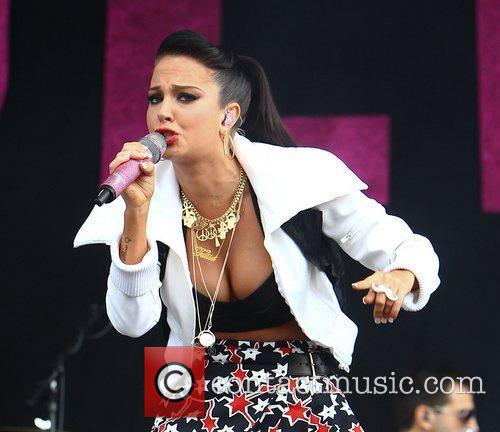 Tulisa Contostavlos and Wireless Festival 13