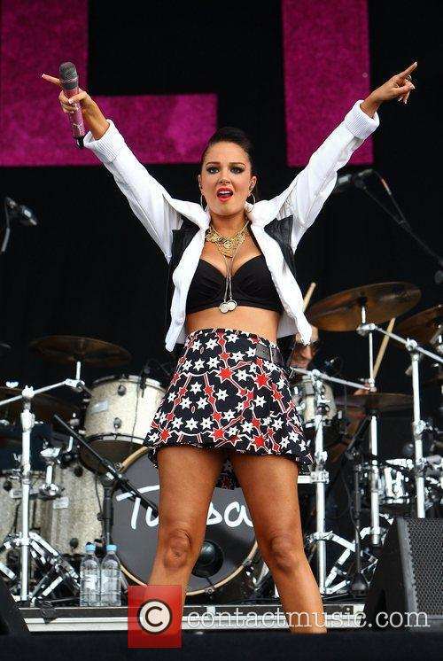 Tulisa Contostavlos and Wireless Festival 15