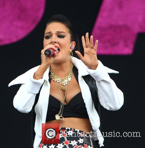 Tulisa Contostavlos and Wireless Festival 24