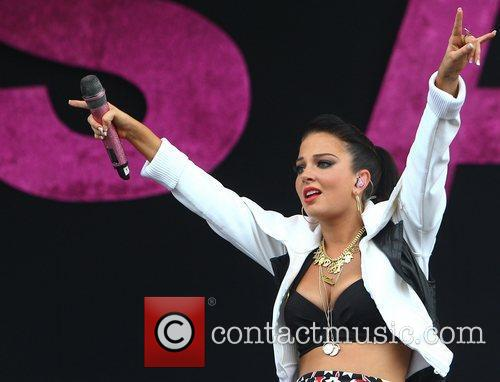 Tulisa Contostavlos and Wireless Festival 25