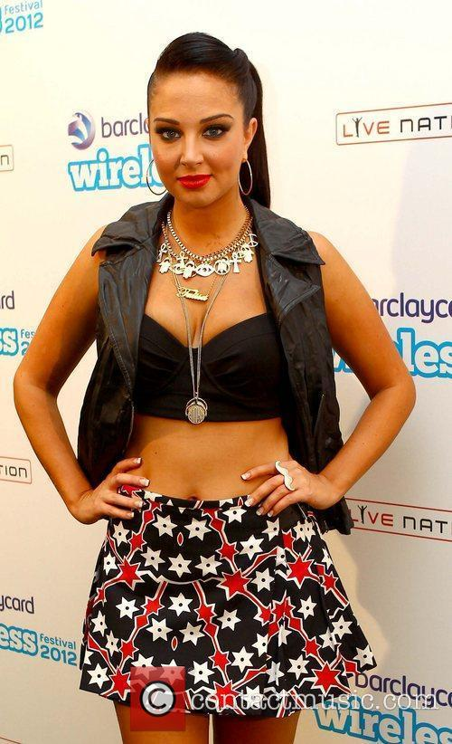 Tulisa Contostavlos and Wireless Festival 1