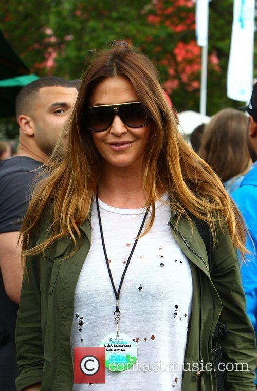 Lisa Snowdon and Wireless Festival 1