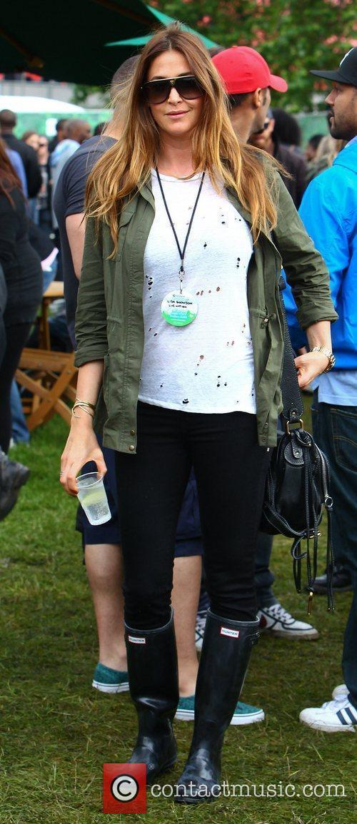 Lisa Snowdon and Wireless Festival 2