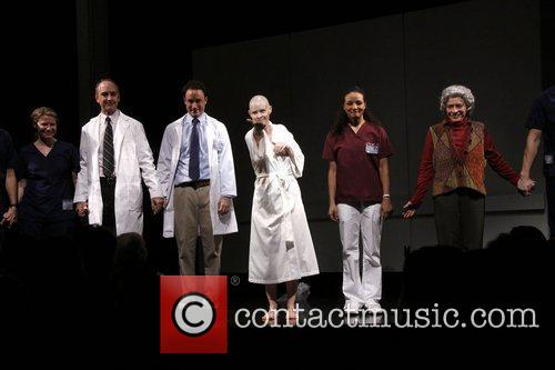 Opening night of Manhattan Theatre Club's 'Wit' at...