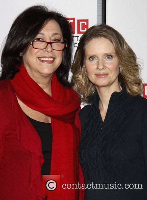 Lynne Meadow and Cynthia Nixon  Photo call...
