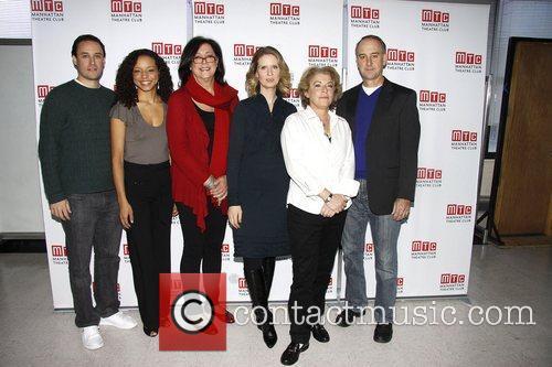Lynne Meadow, Cynthia Nixon and cast  Photo...
