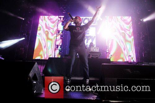 Juicy J. performs during Wiz Khalifa 2050 World...
