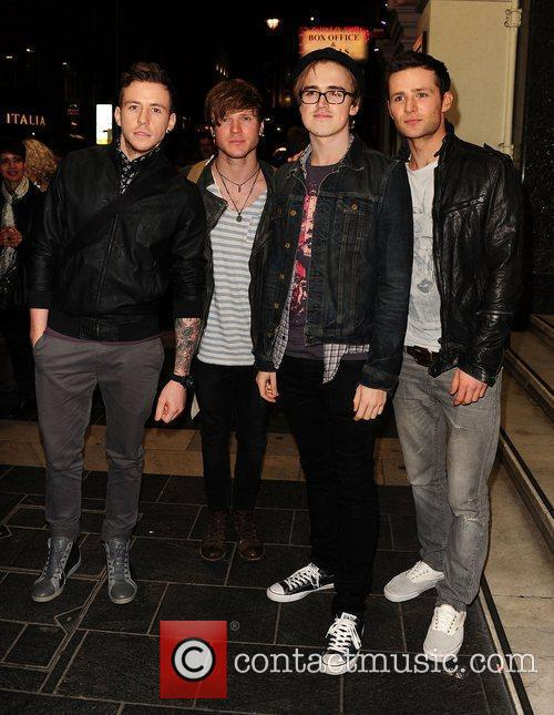 Mcfly, Danny Jones, Tom Fletcher and London Palladium 3