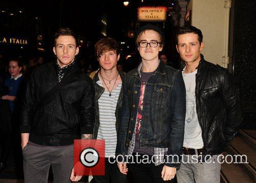 Mcfly, Danny Jones, Tom Fletcher and London Palladium 5
