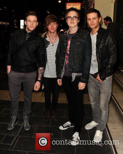 Mcfly, Danny Jones, Tom Fletcher and London Palladium 1